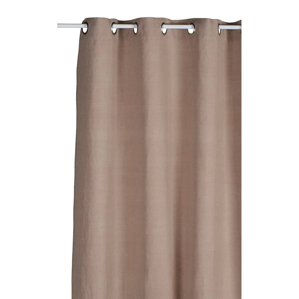 Rideau taupe lisbeth cocktail scandinave for Rideau taupe