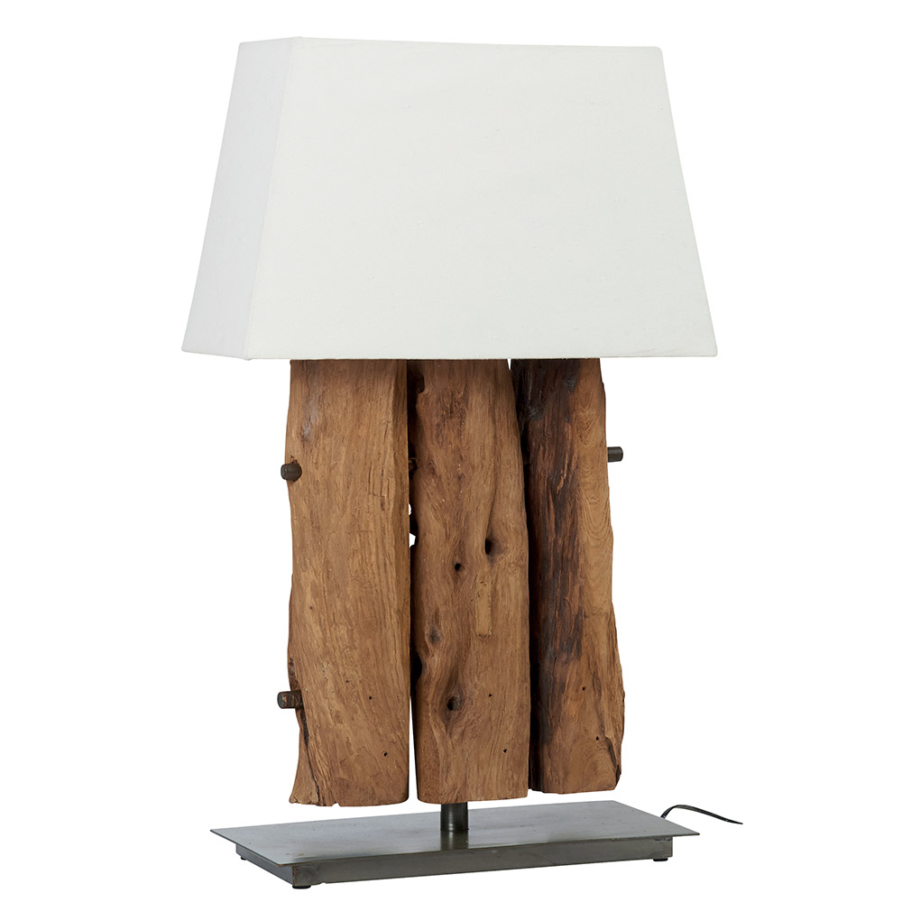 Lampes de table d 39 inspiration r tro ou nordique en bois ou - Lampe cocktail scandinave ...