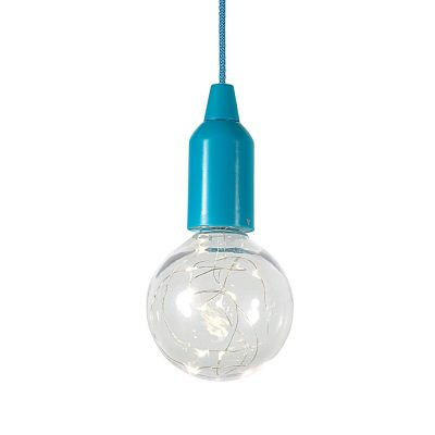 Suspension bleue LED