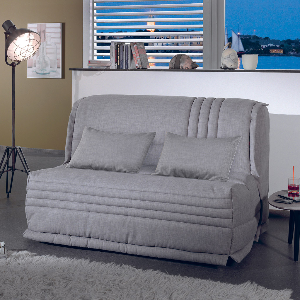 une banquette lit avec matelas bultex syst me bz. Black Bedroom Furniture Sets. Home Design Ideas
