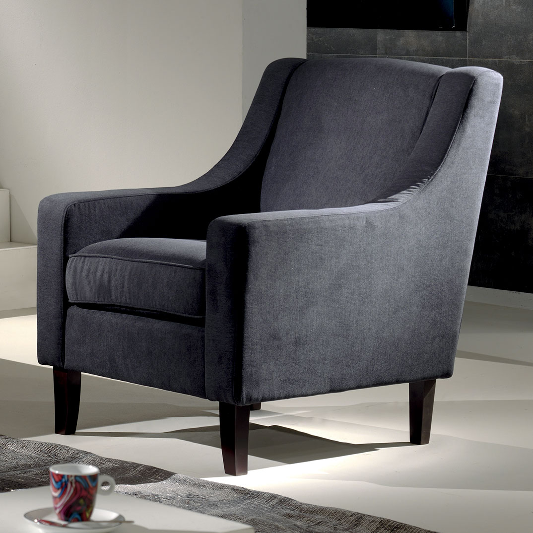 le fauteuil leti au ligne r tro et dossier haut ultra confortable. Black Bedroom Furniture Sets. Home Design Ideas