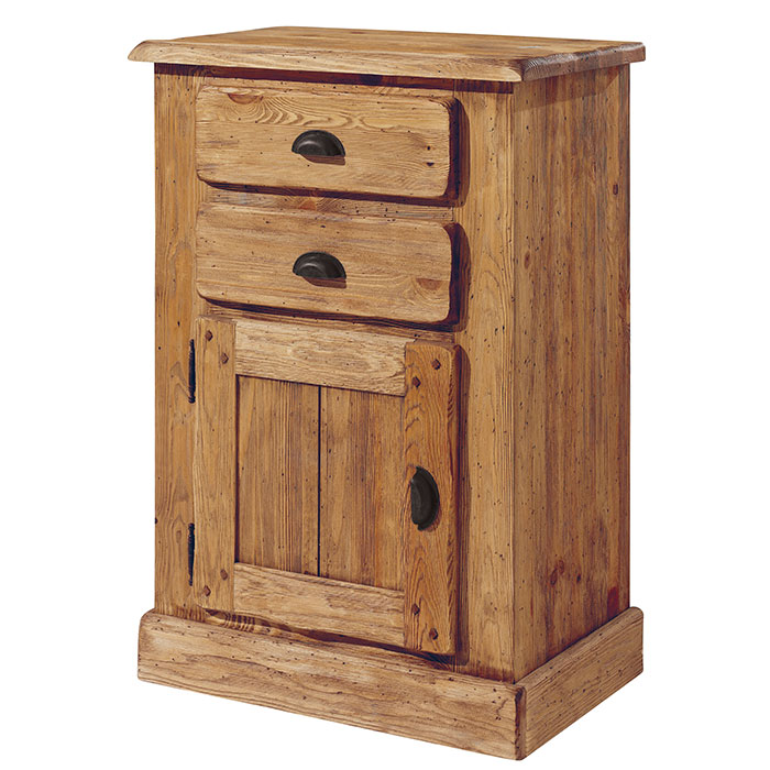 chiffonnier galway en pin massif bross l 39 ancienne. Black Bedroom Furniture Sets. Home Design Ideas