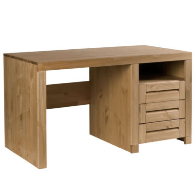 simple bureau scandik with bureau bois massif. Black Bedroom Furniture Sets. Home Design Ideas