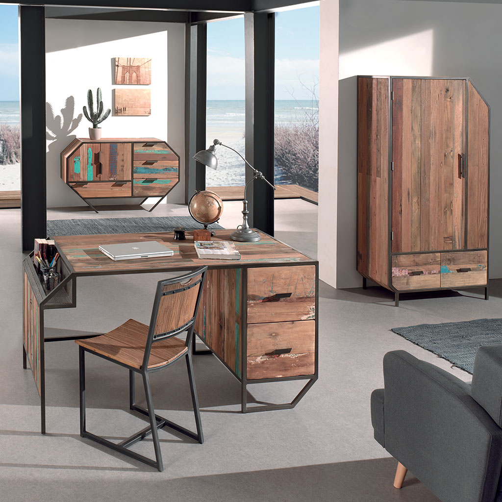 bureau cocktail scandinave beautiful lit with bureau. Black Bedroom Furniture Sets. Home Design Ideas