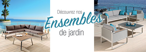 Collection ensemble de jardin