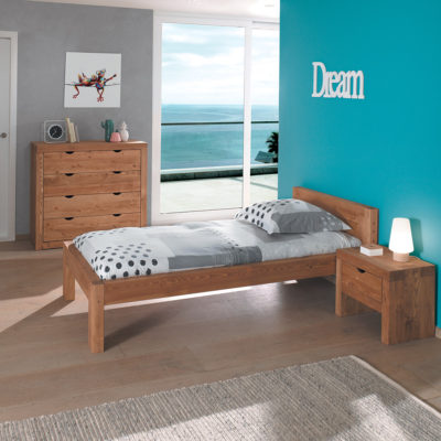 d couvrez nos lits 1 place en bois massif en couchage 90 cm. Black Bedroom Furniture Sets. Home Design Ideas