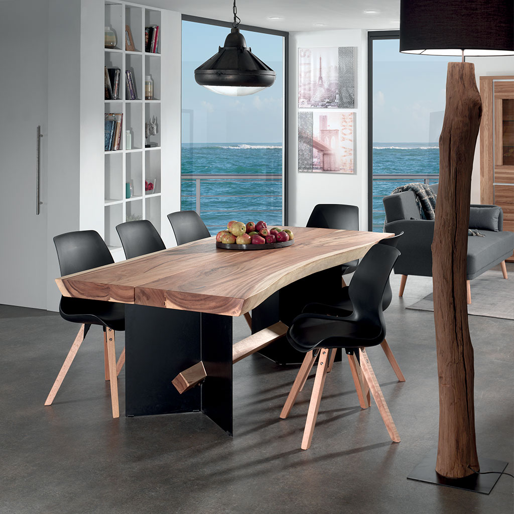 table raia en bois de sur une table l 39 esth tique brute. Black Bedroom Furniture Sets. Home Design Ideas
