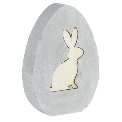 Oeuf déco lapin