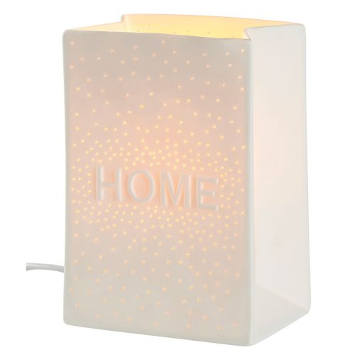 Lampe porcelaine Home