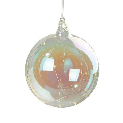 Suspension boule 10 LED