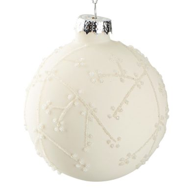 Suspension boule florale
