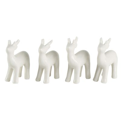 Set de 4 cerfs
