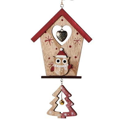 Suspension maisonnette hibou
