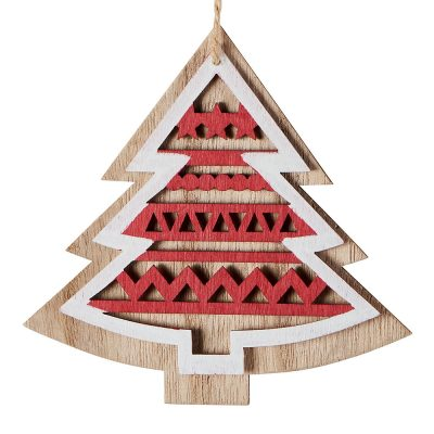 Suspension sapin en bois