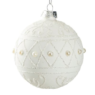 Suspension boule perle