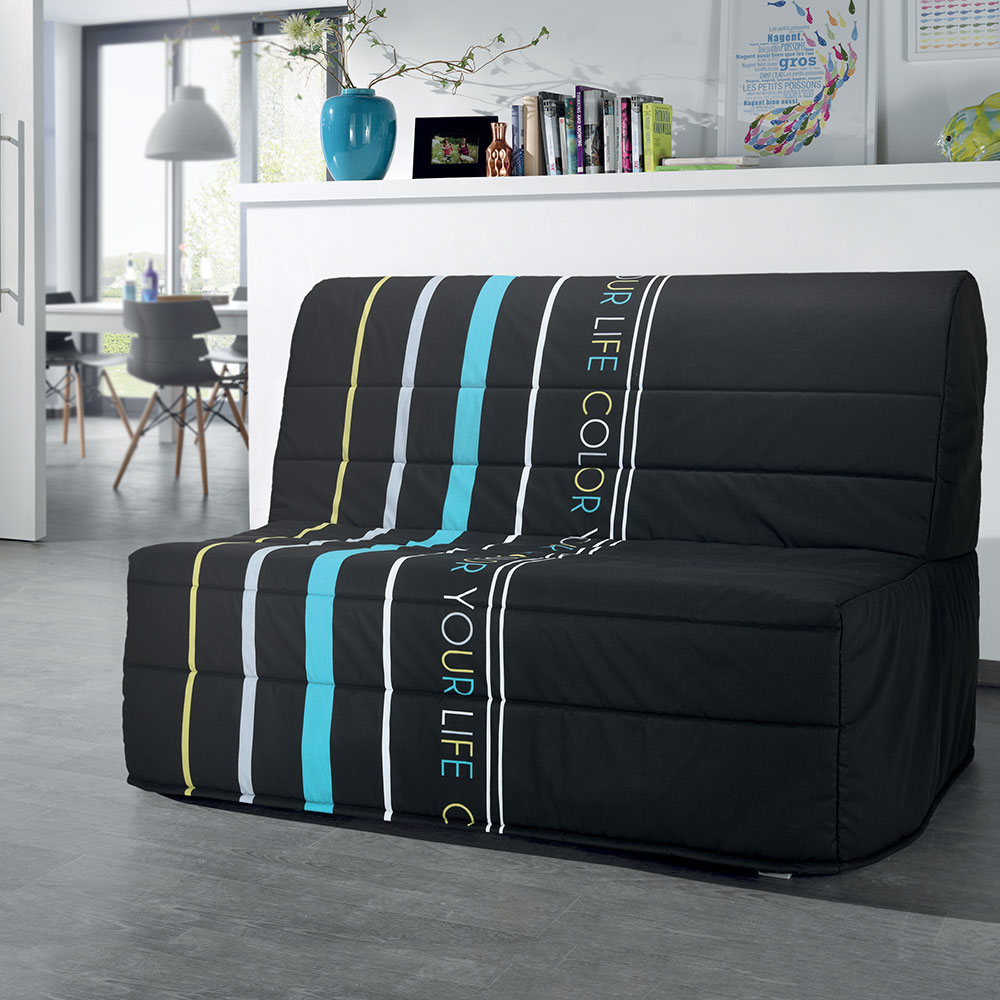 banquette lit yourlife au syst me de couchage bz sp cial petit espace. Black Bedroom Furniture Sets. Home Design Ideas