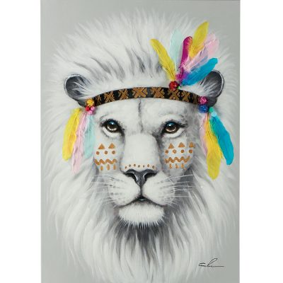 Tableau Paint'ART Lion