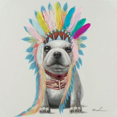Tableau Paint'ART Indiana dog