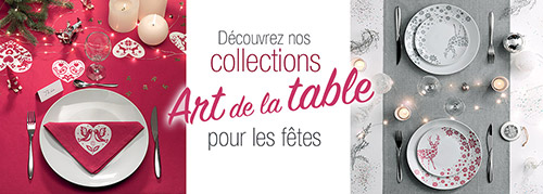 Art de la table pour Noël