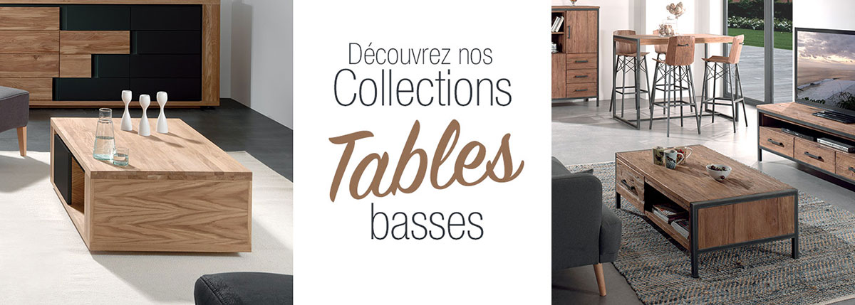 Tables Basses Bois Massif Au Design Scandinave Indus Ou