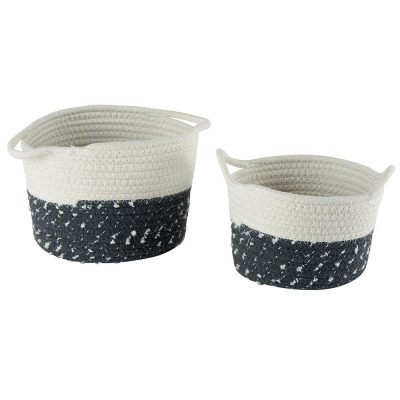 Set de 2 corbeilles SNOW