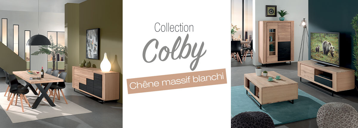 Collection en chêne COLBY