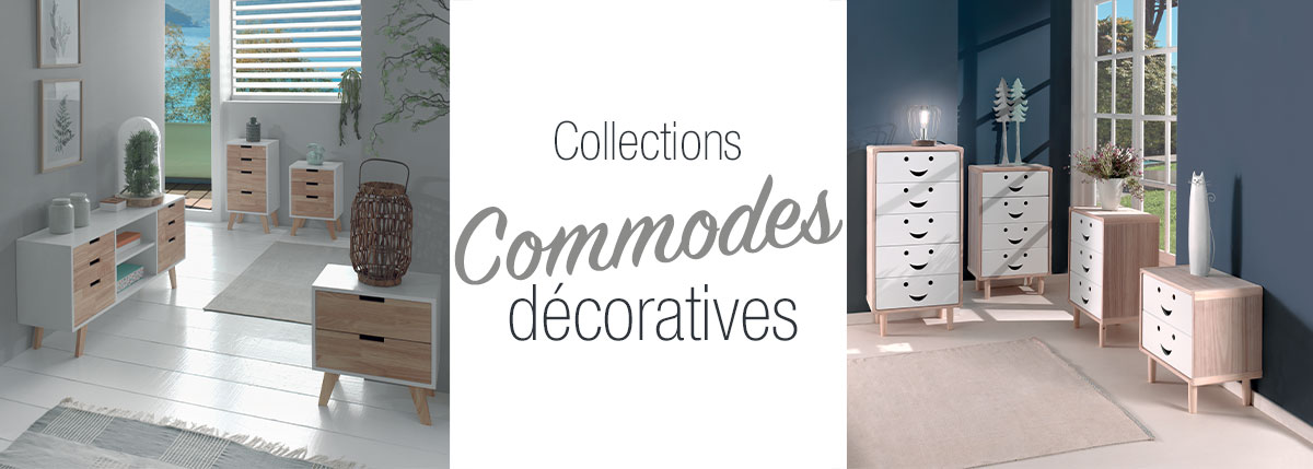 Commodes décoratives