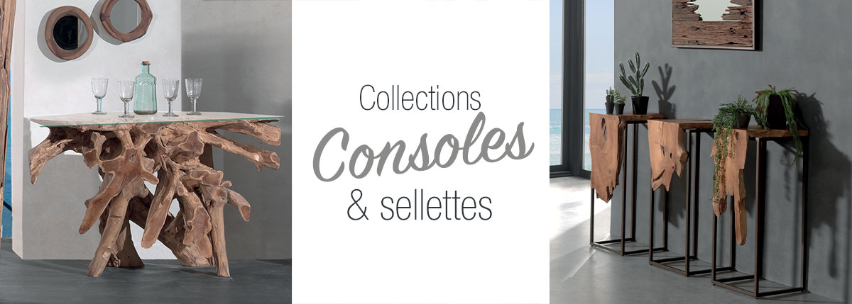 Consoles & sellettes