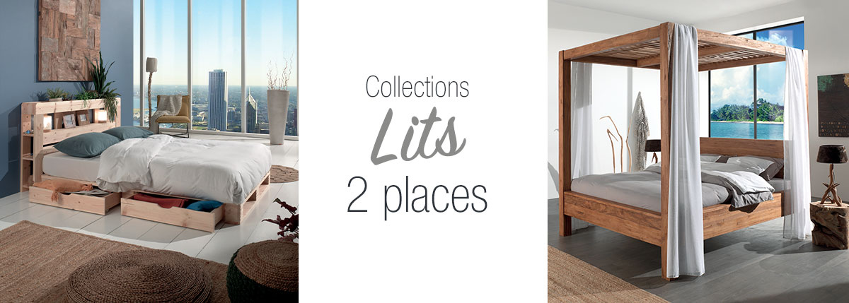 Chambres lits 2 places