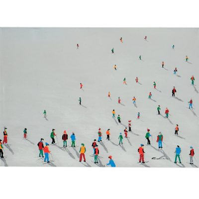 Tableau Paint'Art SKI EN FOLIE