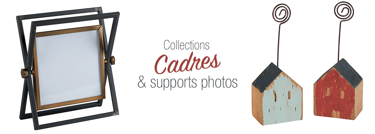 Cadres et supports photos