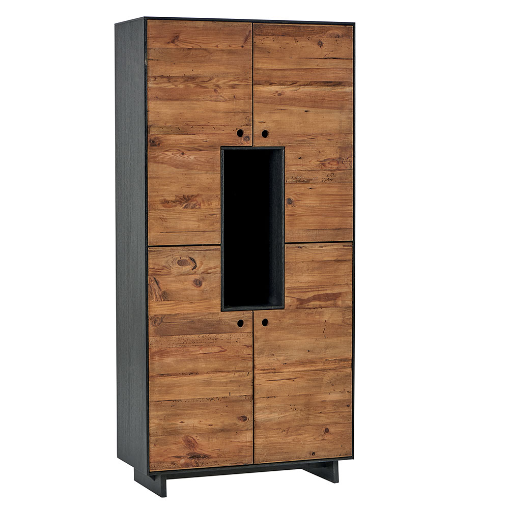 Armoire Herning Pin Massif Recycle Et Bouleau Un Charme Atypique