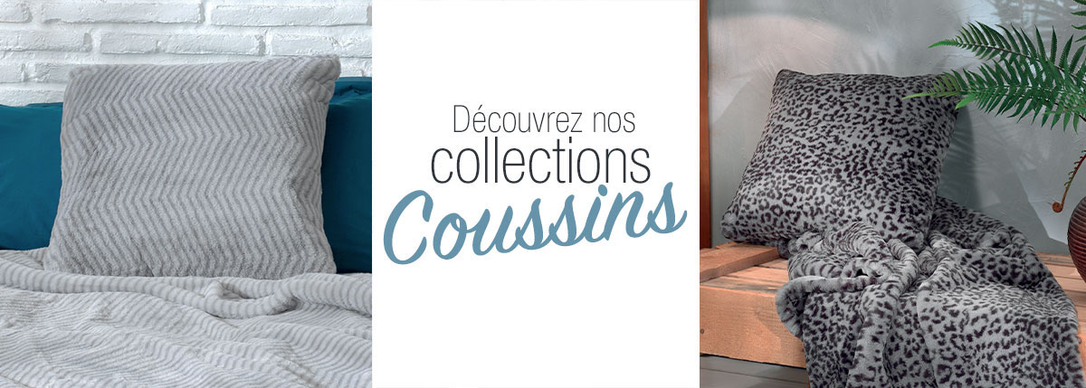 Collection coussin ultra doux