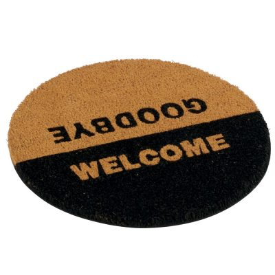 Paillasson rond WELCOME