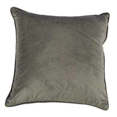 Coussin velours perle